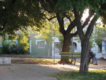 Plaza La Conquista, cerro Los Placeres