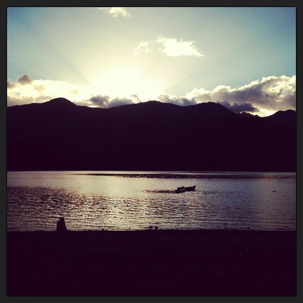 Lago Choshuenco, Chile
