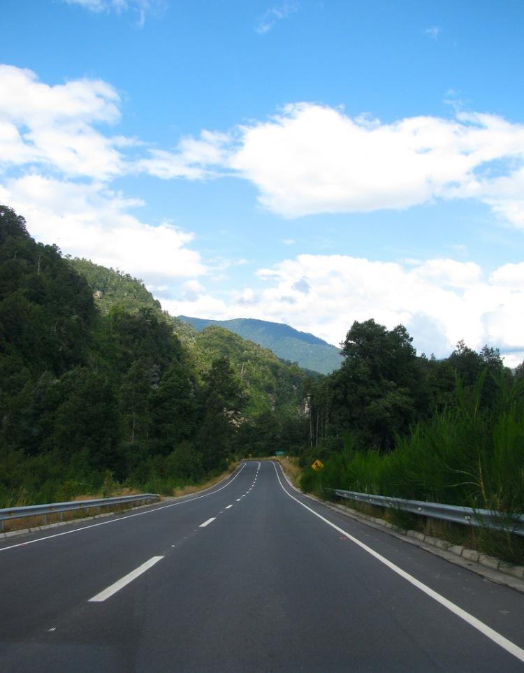Ruta de los 7 Lagos, Chile